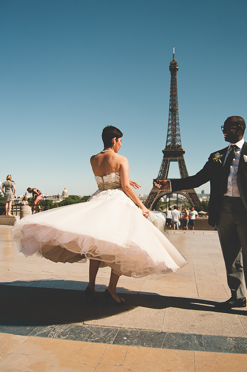 Parisian Elopement ~ Zahra and Rob