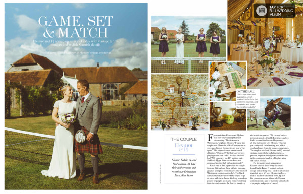 Real Wedding Feature ~ You & Your Wedding July/ August 2014