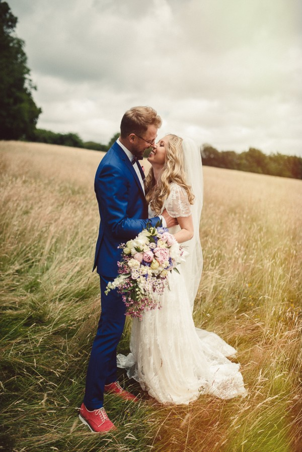 Suzy & Tom ~ A Wedding in the Woods, England