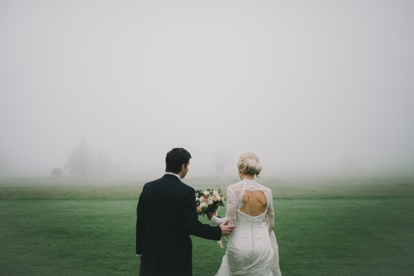 Katie & Ben ~ Misty Late Autumn Wedding in the UK