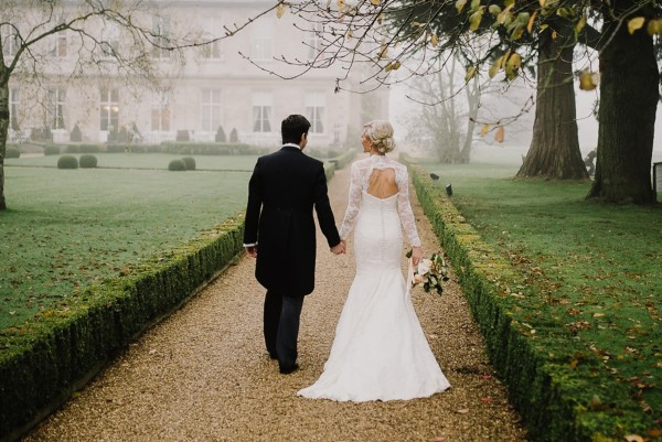 Katie & Ben ~ Misty Autumnal Cathedral Wedding in England