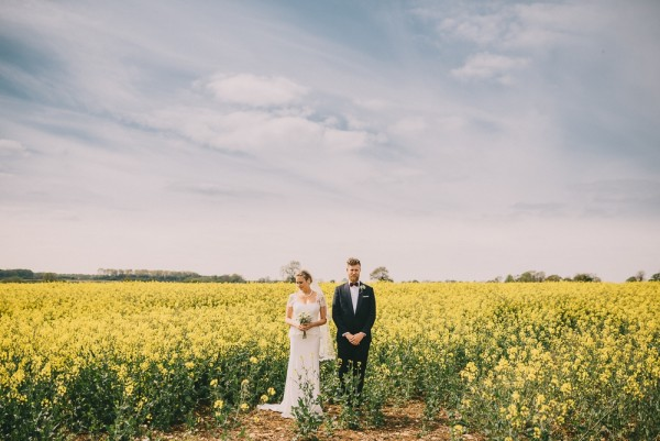 Hannah & Simon ~ Country Wedding in the Cotswolds, England