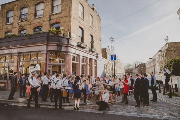 Rachel & Jack ~ Street Party Wedding in London