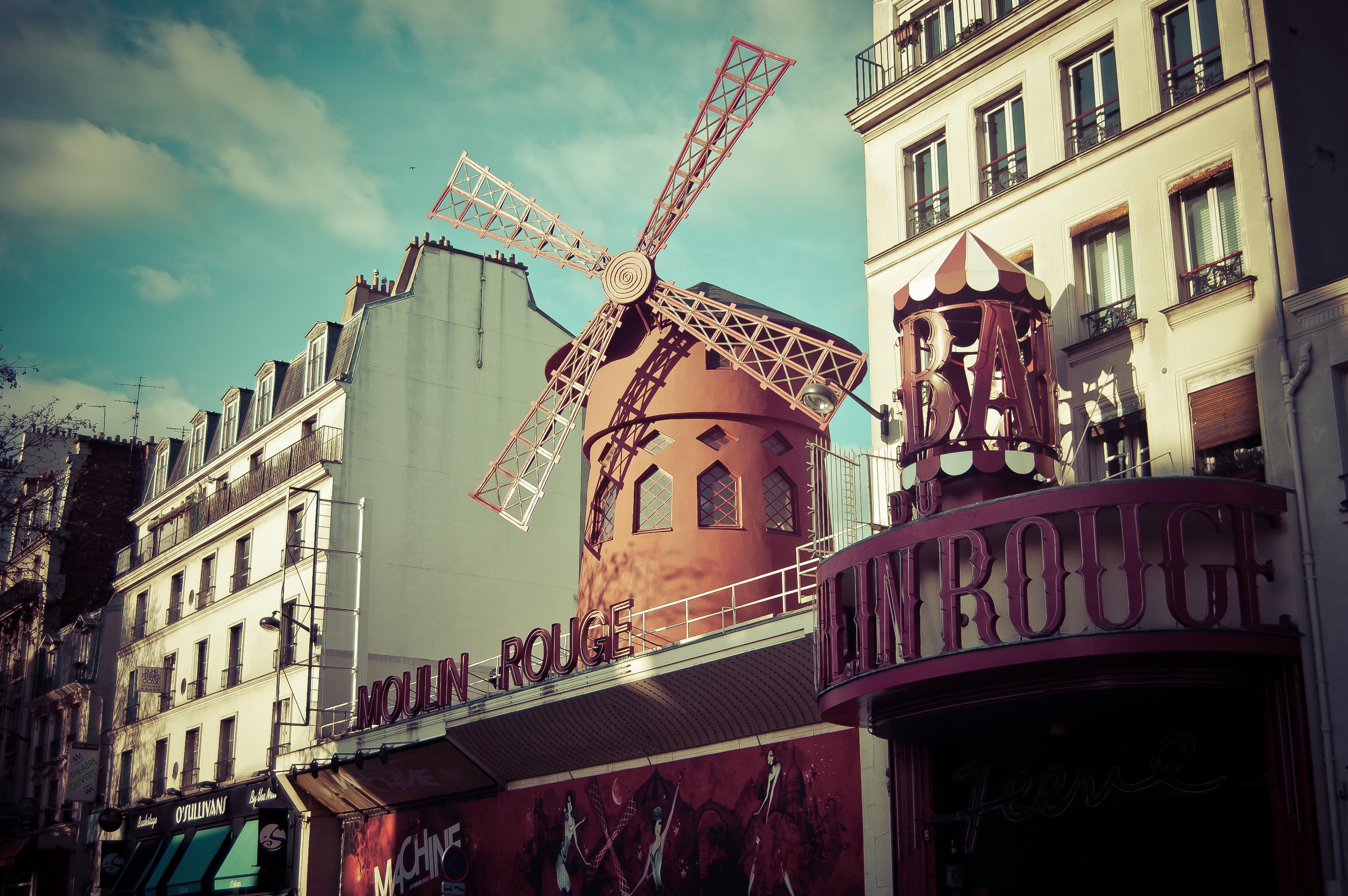 Moulin Rouge David Wickham
